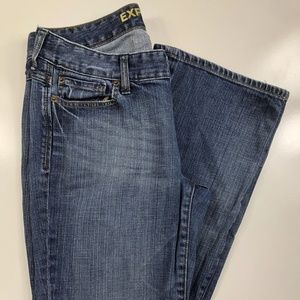 Express Jeans Eva Boot Cut Mid Rise Jeans DX08
